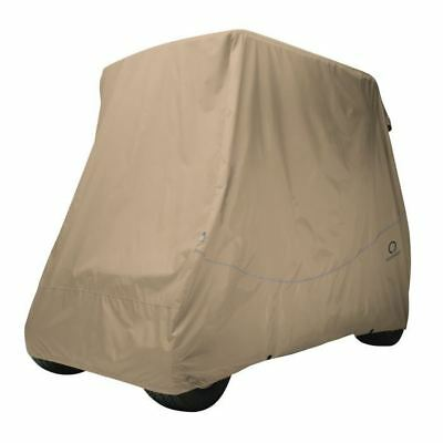 Fairway Golf Buggy Cover Quick-Fit Short Roof Khaki
