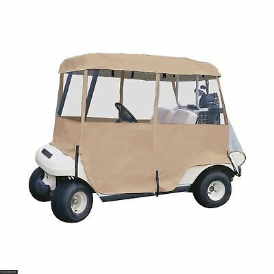 Fairway Deluxe 4 Sided Golf Buggy Cart Enclosure Cover 2 Person