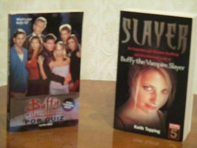 Buffy The Vampire Slayer Quiz Book and Slayer Guide