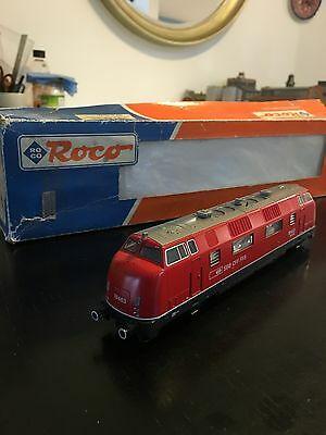 ROCO Am 4/4 Class diesel locomotive in SBB red livery