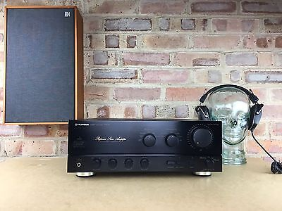 PIONEER A-676 Reference Stereo Amplifier. Made In Japan. 99p NR
