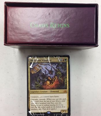 EDH Complete Planechase Anthology Chaos Reigns Deck -MTG- New Maelstrom Wanderer