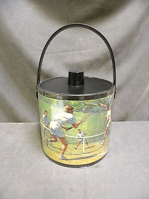 Vintage Retro Modern Eames Era Irvinware Golf Tennis Sports Theme Ice Bucket (6)