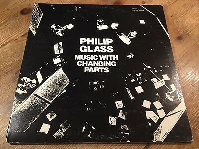 2 LP Chatham Square Productions ‎1001/2 Philip Glass ‎Music With Changing Parts