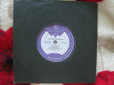 The Black Velvet Band ‎Old Man Stone  Mother Rec MUM10 UK 7inch 45 Vinyl Single