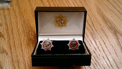 Surrey Fire And Rescue Service Cuff Links.