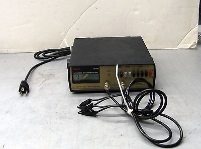 *** Simpson Electric 444 Micro Ohmmeter ***
