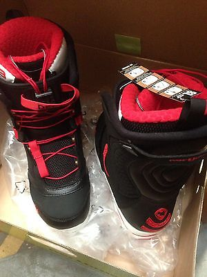 Northwave Decade Snowboard Boots New Uk 8.5 Black/red