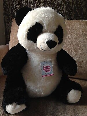 Loveable Huggable Panda - Soft Toy