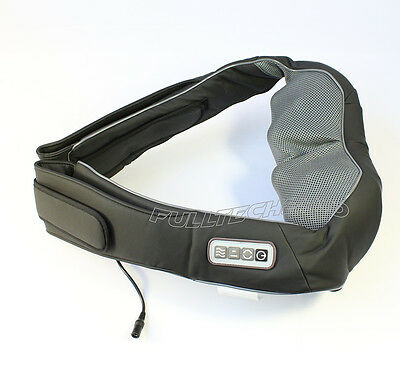 Electric Shiatsu Kneading Neck Shoulder Body Massager With Heat with car charger