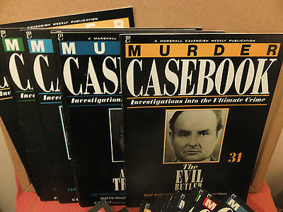 MURDER CASEBOOK   33 copies