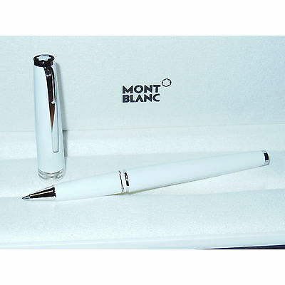 New Montblanc Pix Collection White/Platinum Rollerball Pen 114805 cruise variant