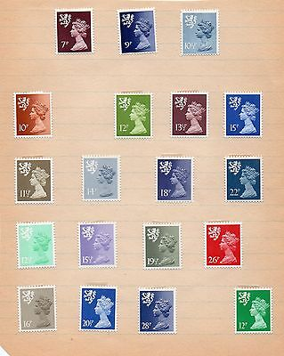 Selection of Regional Stamps Scotland