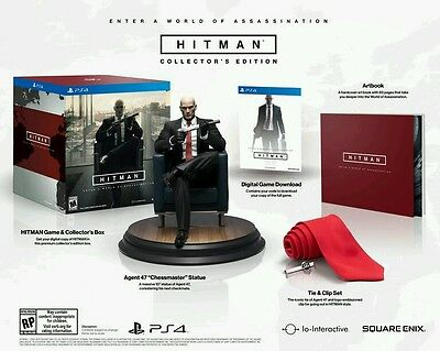 Hitman Agent 47 Collector's Edition - PlayStation 4 Ps4 Uncut Neu OVP