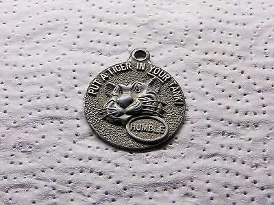 Vintage Humble Oil Key Chain Fob - Happy Motoring - Put A Tiger In Your Tank