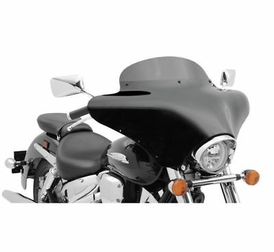 Memphis Shades 5in. Windshield for Batwing Fairing Black MEP8501