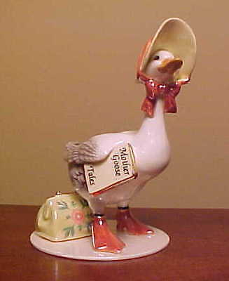 RETIRED Hagen-Renaker Specialty #3293 LARGE MOTHER GOOSE - Ceramic Figurine