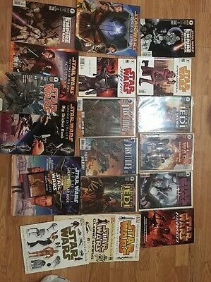 Lot Of Star Wars Books And Comics