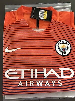 Maillot Nike Manchester City 2016/2017 Aeroswift Taille M
