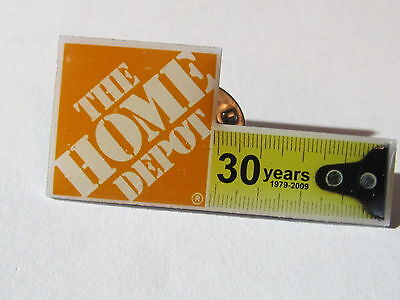 home depot collectibles home depot celebrating 30 years lapel pin