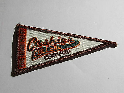 home depot cashier college certified patch