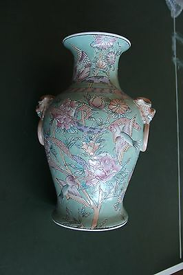 Antique/Vintage Large Chinese Vase - Converted to Lamp