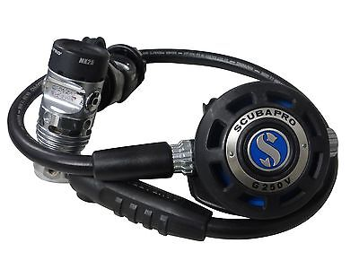 Scubapro Equipment MK25 1st Stage and G250V 2nd Stage Scuba Diving Regulator