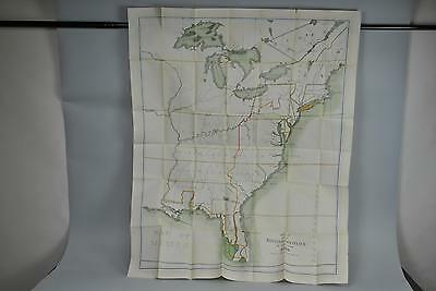 Map of the British Colonies in the Year 1765 Large Antique Lithograph B