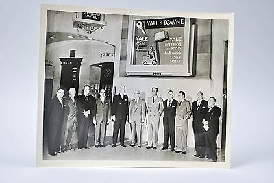 Grand Central Terminal New York Press Photo Suits Yale Forklifts A