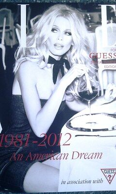 Very Rare Hard To Find Genuine Guess Marciano 30Th Anniversary Catalogue Superb