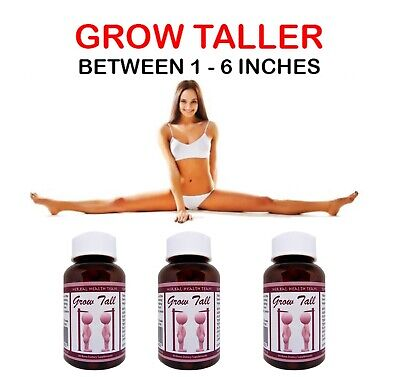 Gain up to 6 Inches In Height..YOU CAN BE TALLER SAFELY!..3 Month course.