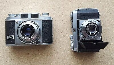 Lot of 2 vintage Kodak camera for collection