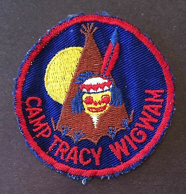 1950s Camp Tracy Wigwam Patch Council