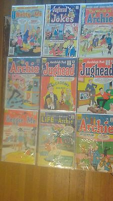 Lot of early 1960s Archie Comics Jughead #101 1963 #118 1965 Betty Veronica