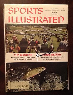 ARNOLD PALMER 1958 MASTERS Preview SIGNED SPORTS ILLUSTRATED SI Magazine