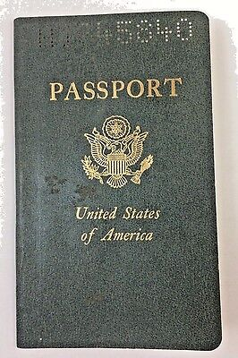 1975 United States Of America Passport Expiration Date July 28,1975