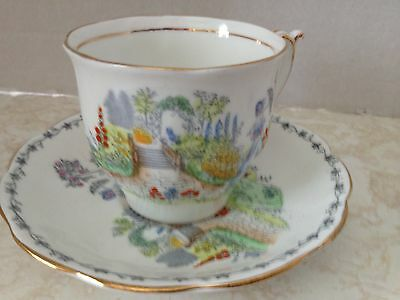 Vintage Bell China Teacup and Saucer Made in England