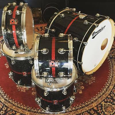 Premier Genista Drum Kit with Pearl, Tama, Yamaha legs