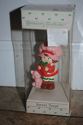 Vintage Strawberry Shortcake and Custard Sweet Treat Ornament American Greetings