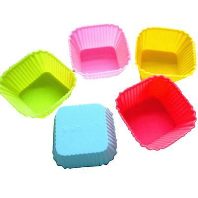 1*12PC Kitchen Craft Cake Cup Chocolate Liners Baking Cupcake Cases Muffin 7CM