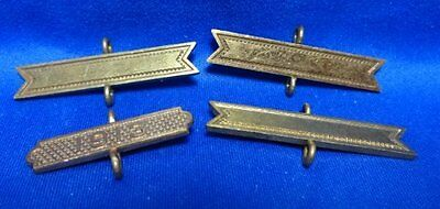 Spanish American War SAW to WWI 1913 Army Qualification Bars Lot Of 4