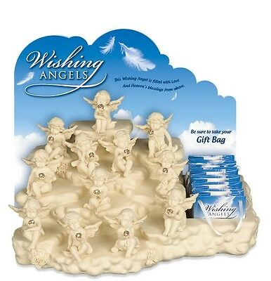 AngelStar Wishing Angels Display with 48 Cherubs & Gift Bags