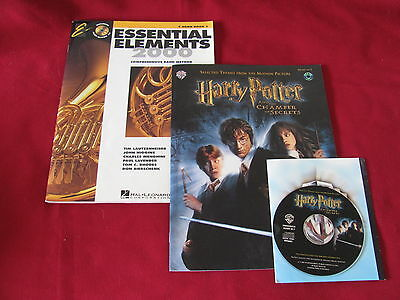 Horn  Band Book; Essential Elements 2000; Harry Potter Horn Music in F