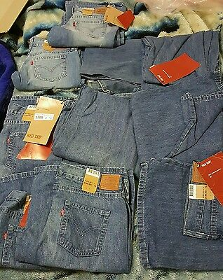 Levis bulk 20 pairs brand new with tags
