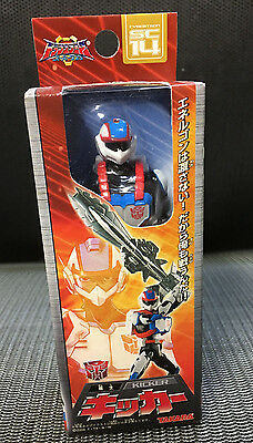 Transformers Superlink Microman Kicker Figure with Starsaber