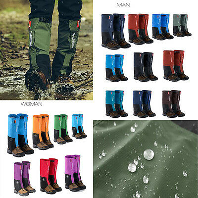 Waterproof Walking Gators Boot Hiking Climbing Snow Leggings Trekking Gaiters
