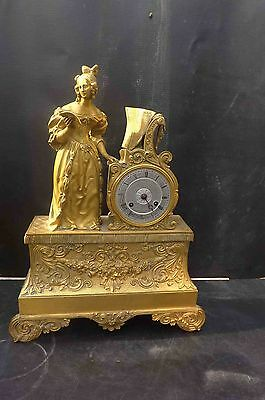 Regency Bronze & Ormalu French clock.