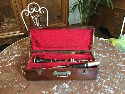 Clarinette ancienne Buffet Crampon Paris  / Old French Clarinet / Clarinetto