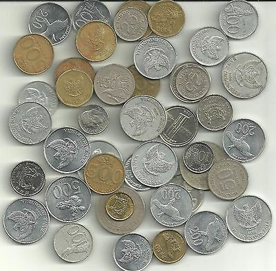 Indonesia x 44 Mixed Coins