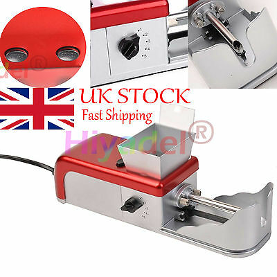 Cigarette Rolling Machine Electric Automatic Tobacco Roller Injector Maker TAB